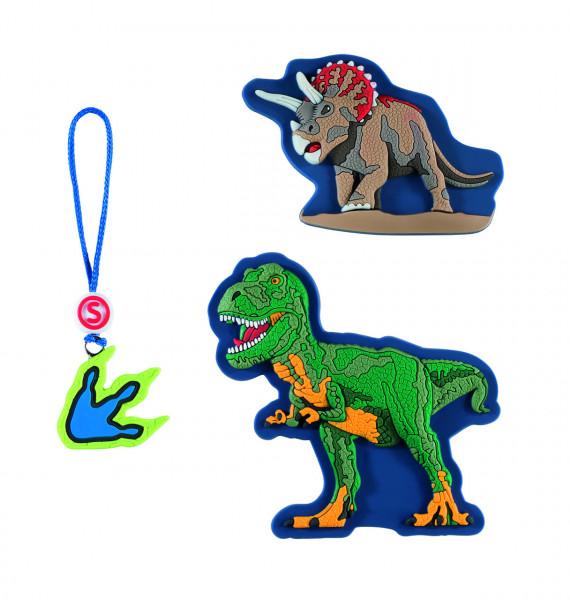 Step by Step Magnetbilder MAGIC MAGS SCHLEICH Set 3-teilig Dinosaurs, T-Rex (139220)
