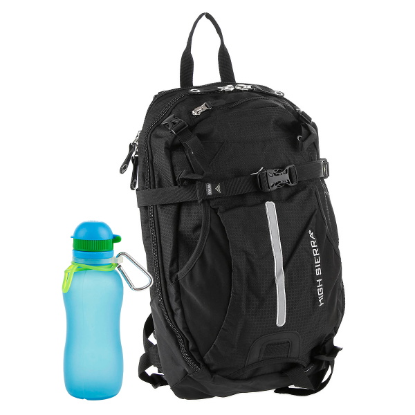 Special Offer High Sierra Rucksack Symmetry + Viv Bottle 3.0 Silikon Trinkflasche