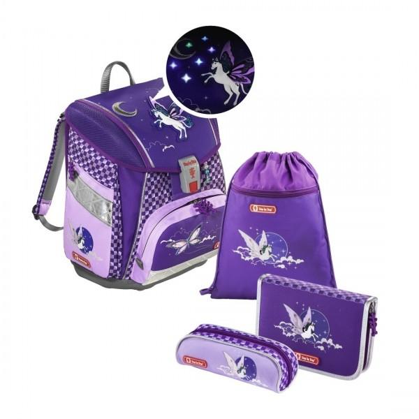 Übersicht Step by Step Touch 2 Flash Schulranzen-Set Pegasus Purple 4-teilig