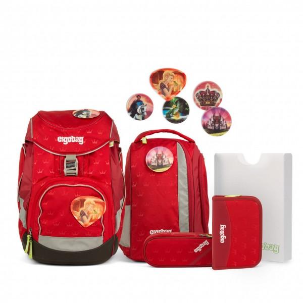 Übersicht Ergobag Pack 6-teiliges Schulrucksack-Set Küss den Bär