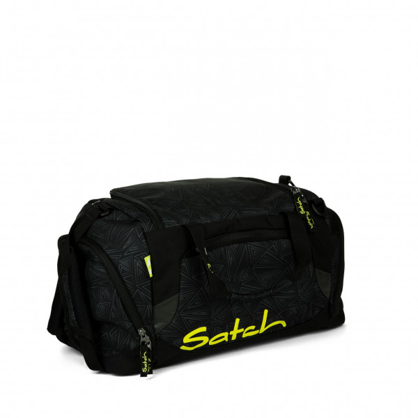 Vorderseite Satch Sporttasche Black Bermuda 50 cm