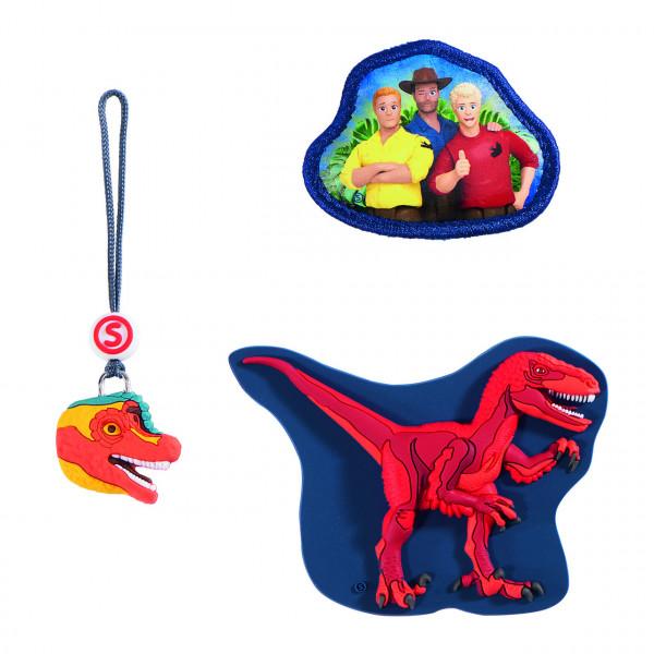 Step by Step MAGIC MAGS Schleich, Dinosaurs, Velociraptor