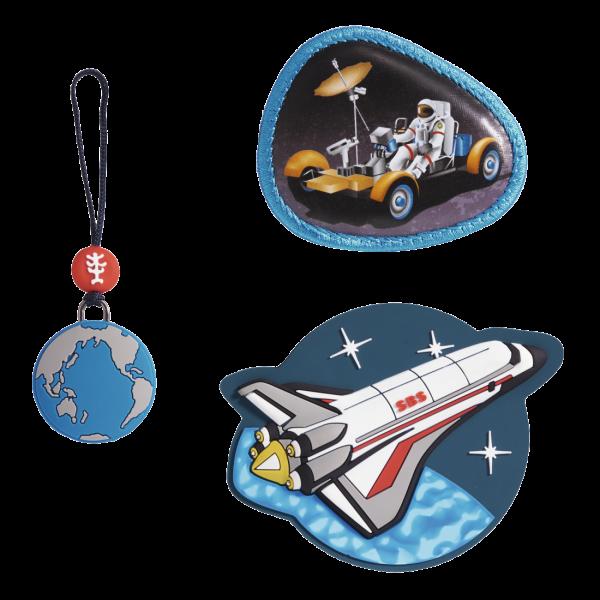 """Vorderansicht Step by Step Magnetbilder MAGIC MAGS Set 3-teilig """"Sky Rocket"""""""