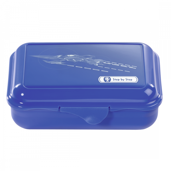 Step by Step Lunchbox Starship Blau
