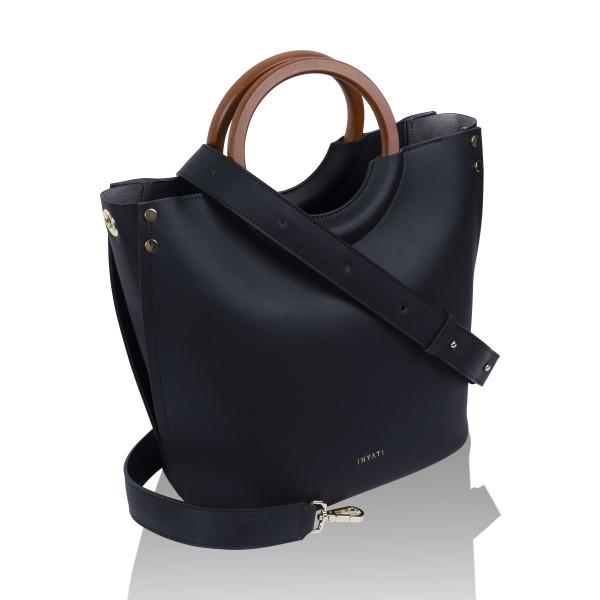 Inyati Damen Handtaschen Viviana schwarz