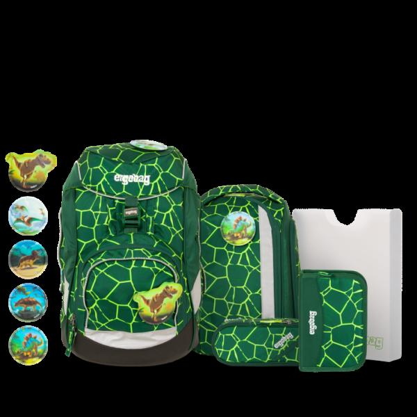 Übersicht Ergobag Pack 6-teiliges Schulrucksack-Set BärRex