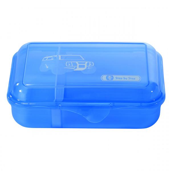 Step by Step Lunchbox City Cops Blau