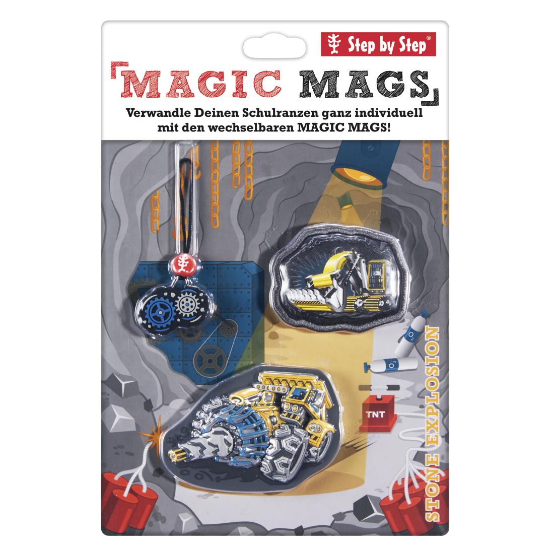 "Step by Step Magnetbilder MAGIC MAGS Set 3-teilig ""Stone ..."