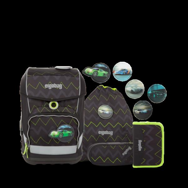 Übersicht Ergobag Cubo Light Schulranzen-Set Drunter und DrüBär 5-teilig