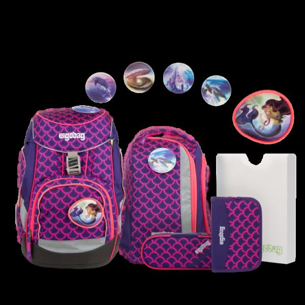 Übersicht Ergobag Pack Schulrucksack-Set PerlentauchBär 6-teilig