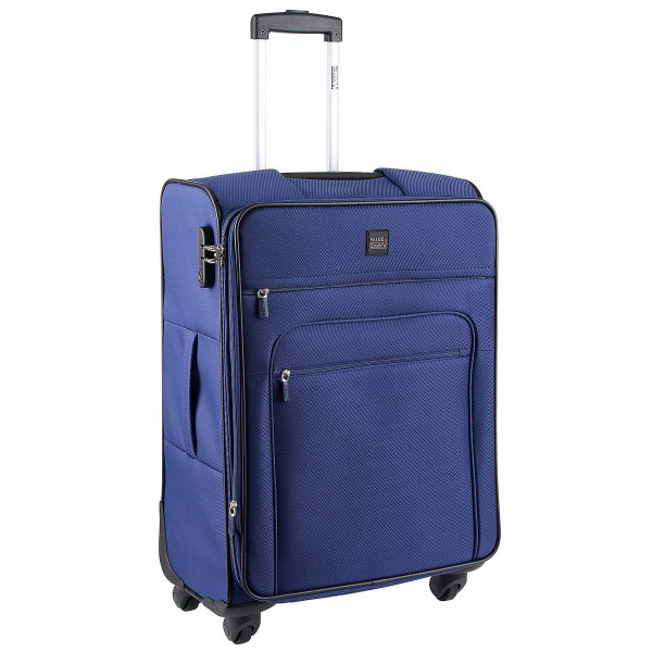 Vorderseite Stratic Value by Stratic Top 4-Rollen Trolley M 65 cm navy blue