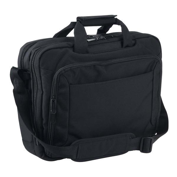 Vorderseite Dermata Laptoptasche 15,6 Zoll schwarz (3476NY)