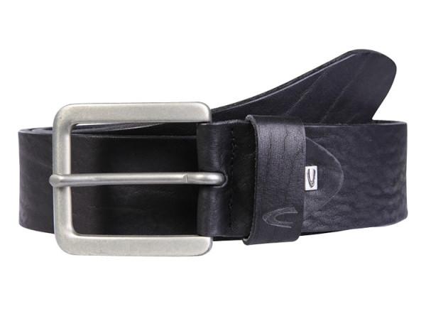 Vorderansicht Camel active Belts Gürtel 110 cm Schwarz