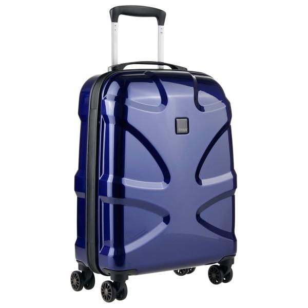 titan x2 4 rollen trolley hartschale s 55 cm g nstig. Black Bedroom Furniture Sets. Home Design Ideas