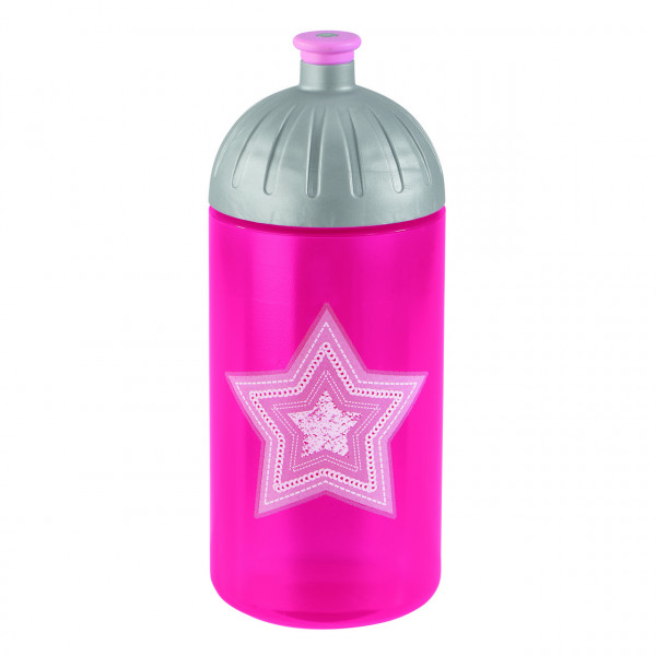 """Step by Step Trinkflasche """"Glamour Star"""", Pink"""