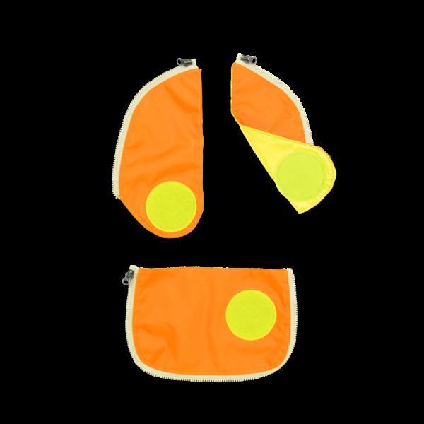 Übersicht Ergobag Cubo Sicherheitsset Orange 3-teilig