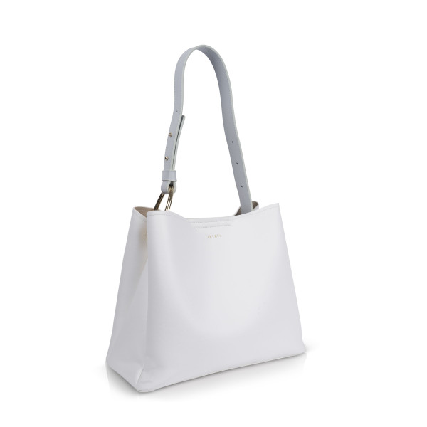 Inyati Damen Handtaschen Jane weiß/lichtgrau