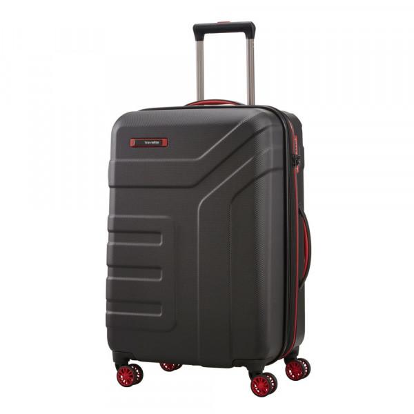 Vorderansicht Travelite Vector 4-Rollen Trolley M 70 cm erweiterbar