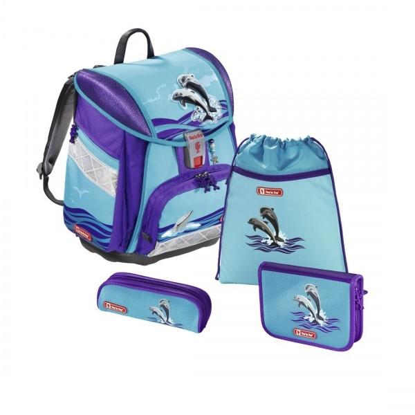 Übersicht Step by Step Touch 2 Schulranzen-Set Happy Dolphins 4-teilig