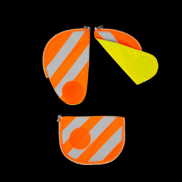 Übersicht Ergobag Pack Sicherheitsset mit Reflektorstreifen Orange 3-teilig