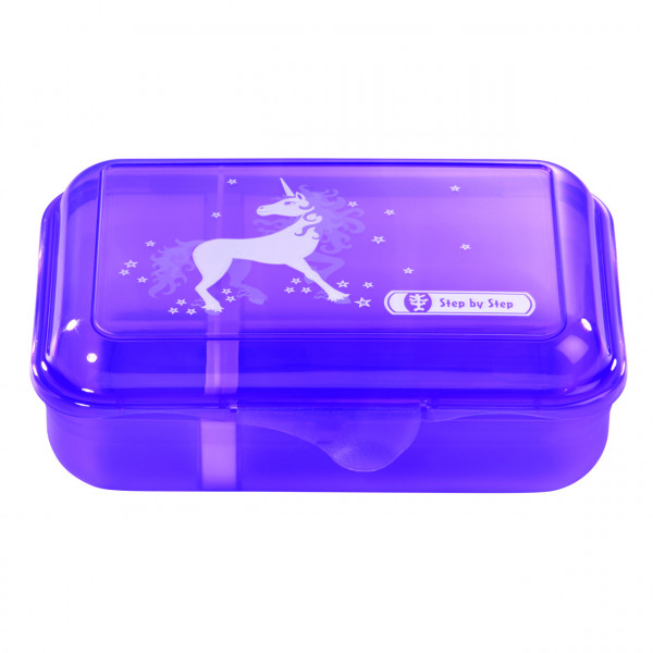 Step by Step Lunchbox Unicorn Flieder
