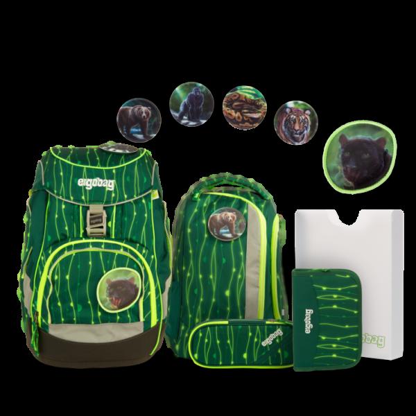 Übersicht Ergobag Pack Schulrucksack-Set RambazamBär 6-teilig