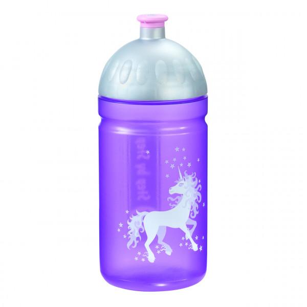 Step by Step Trinkflasche Unicorn Flieder