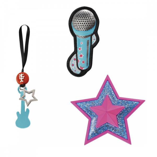 "Vorderansicht Step by Step Magnetbilder MAGIC MAGS Set 3-teilig ""Popstar"""