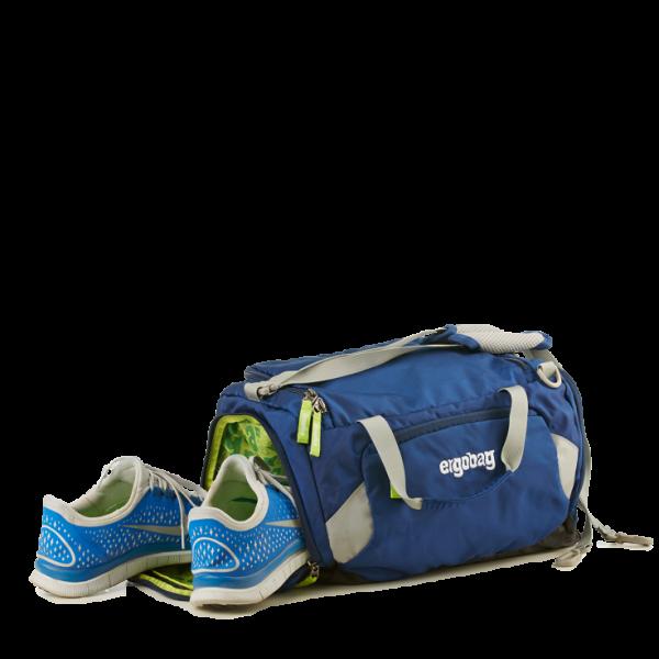 Seitliches Schuhfach Ergobag Sporttasche KaroalaBär