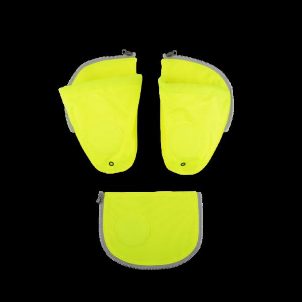 Übersicht Ergobag Pack Cubo Cubo Light Seitentaschen Zip-Set Gelb 3-teilig 2019/2020