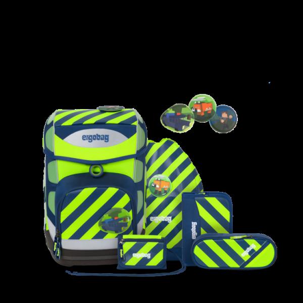 Übersicht Ergobag Cubo Special Edition Neo Schulranzen-Set IllumiBär 6-teilig