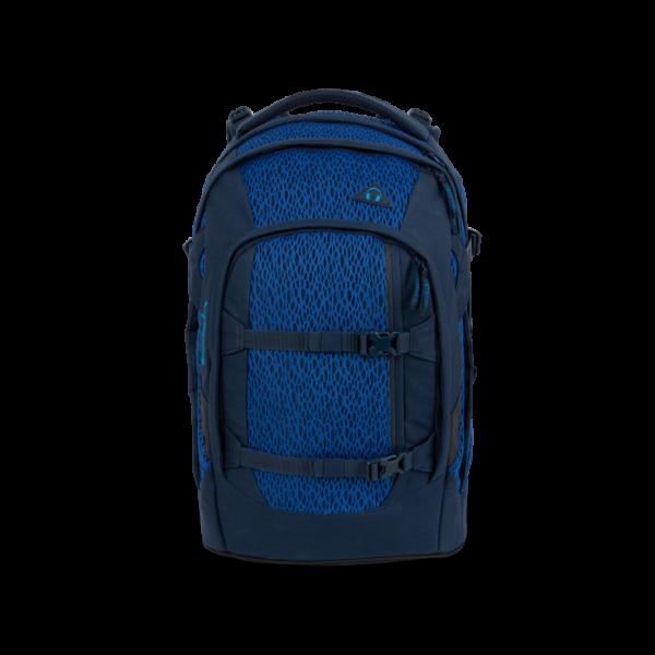 Vorderseite Satch Pack Schulrucksack Outer Space Edition Blue Moon