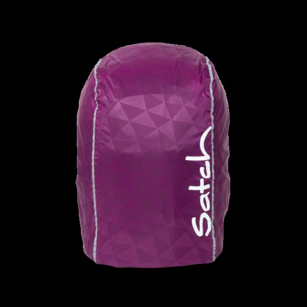 Vorderansicht Satch Regencape Purple