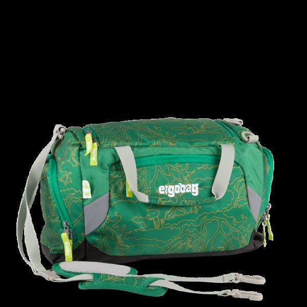 Vorderansicht Ergobag Sporttasche DinosauriBär 40 cm