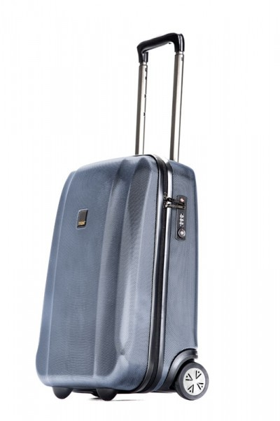 Vorderansicht Titan Xenon Trolley Hartschale S 53 cm