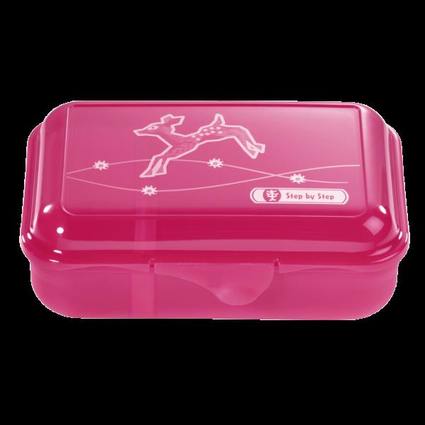 Step by Step Lunchbox Modern Deer Pink