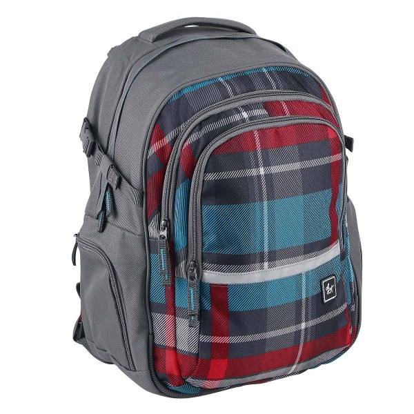 All Out by HAMA Schulrucksack Filby Woody Grey (138545)