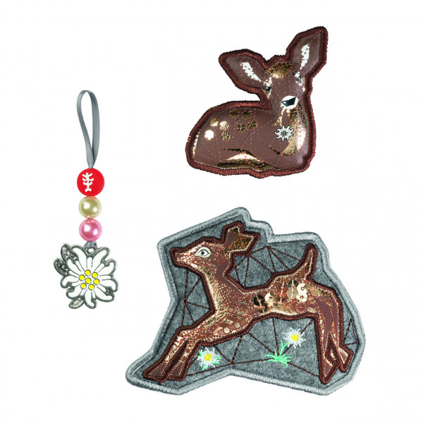 "Step by Step Magnetbilder MAGIC MAGS Set 3-teilig ""Modern Deer"" (139251)"