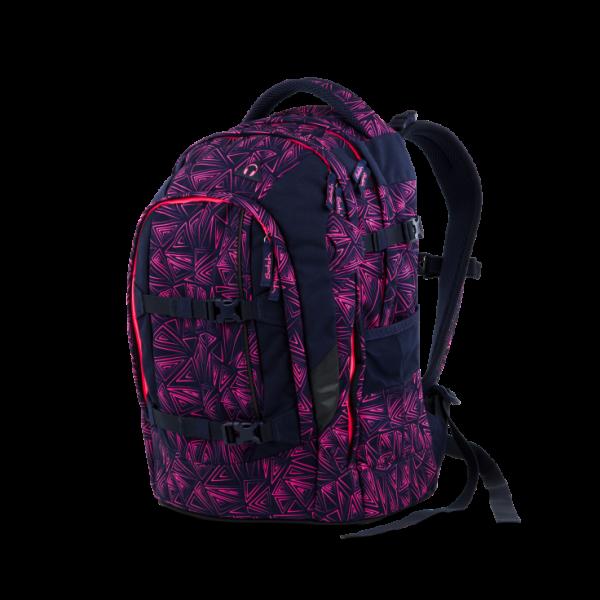 Vorderseite Satch Pack Schulrucksack Pink Bermuda