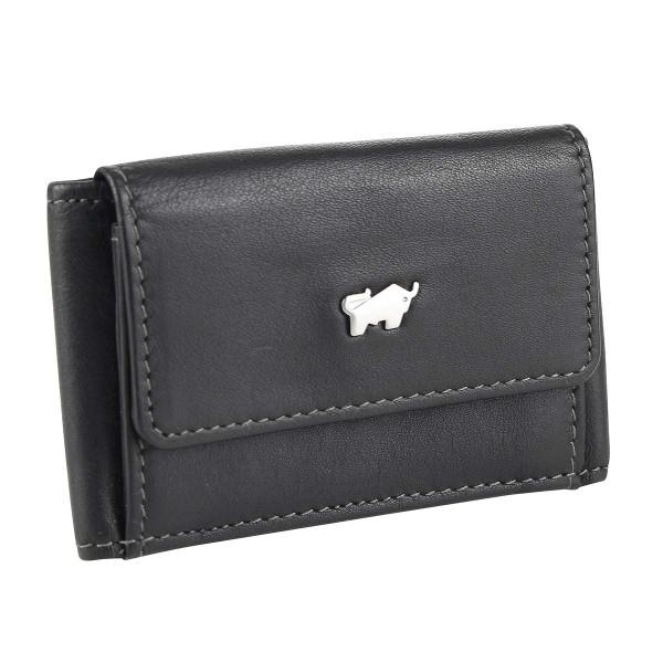 Vorderseite Braun Büffel NAPPA Geldbörse S schwarz