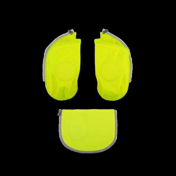 Übersicht Ergobag Cubo Seitentaschen Zip-Set Gelb 3-teilig