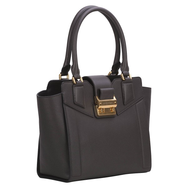 Seitliche Ansicht Matthew Harris Vellamo Shopper dark mud