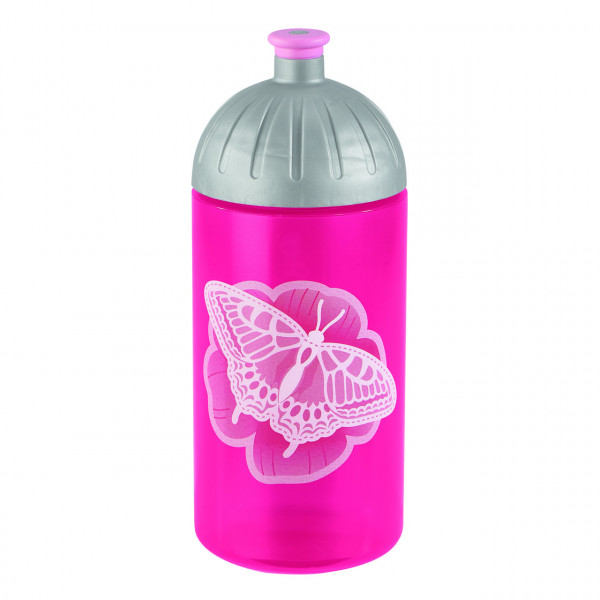 """Step by Step Trinkflasche """"Natural Butterfly"""", Pink"""