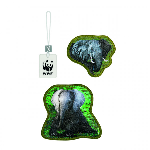 "Step by Step MAGIC MAGS WWF ""Elephants"""
