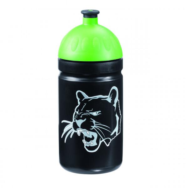 Step by Step Trinkflasche Wild Cat Schwarz