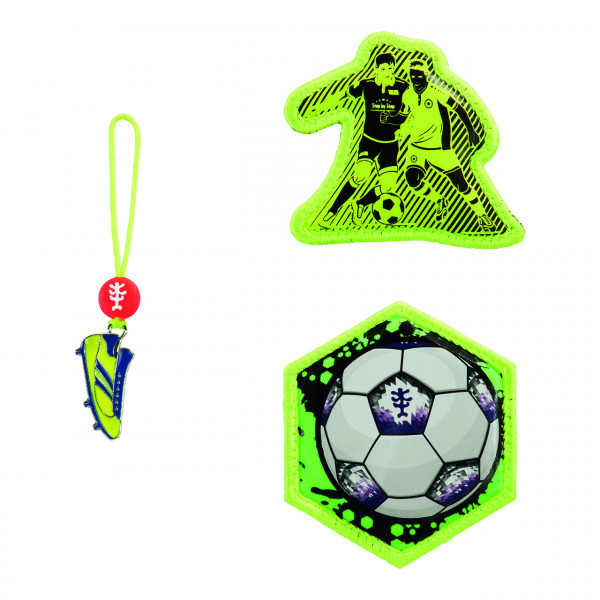 "Step by Step Magnetbilder MAGIC MAGS Set 3-teilig ""Funky Soccer"" (183907)"