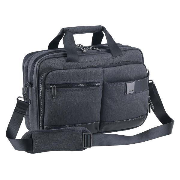 Vorderseite Titan Power Pack Laptop Bag S Mixed Grey