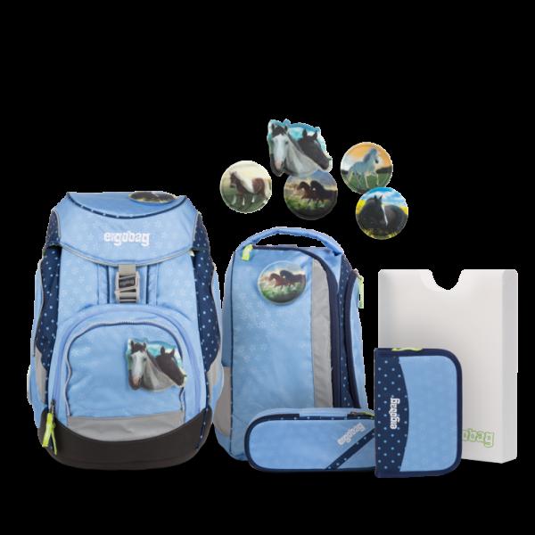 Übersicht Ergobag Pack Schulrucksack-Set HimmelreitBär 6-teilig