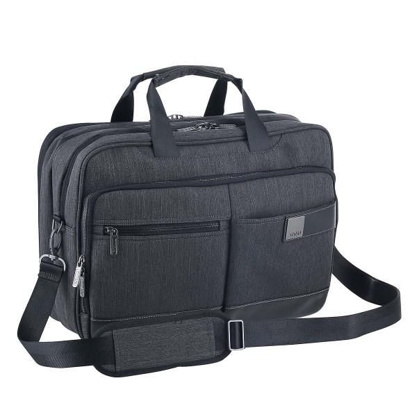 Vorderseite Titan Power Pack Laptop Bag erweiterbar Mixed Grey