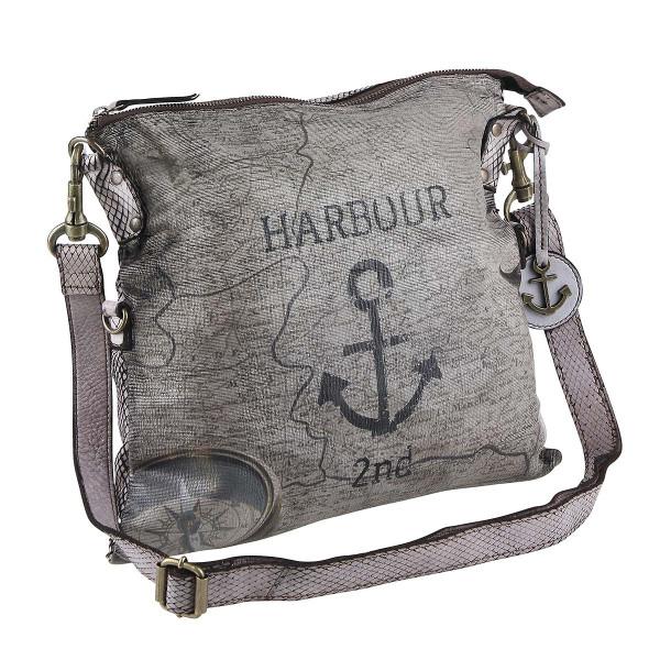 Vorderseite Harbour 2nd Reißverschlusstasche Blue Moon